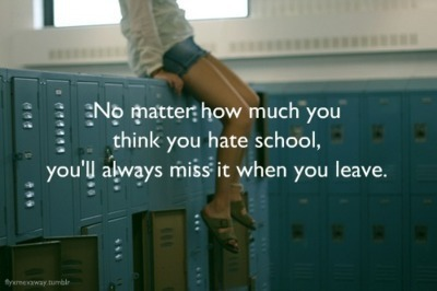 absolutely not true, high school, not true, so true