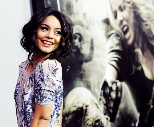adorable, beautiful, curls, cute, dress, eyes, girl, hair, hot, hudgens, lovely, premiere, pretty, smile, sweet, vanessa, vanessa hudgens