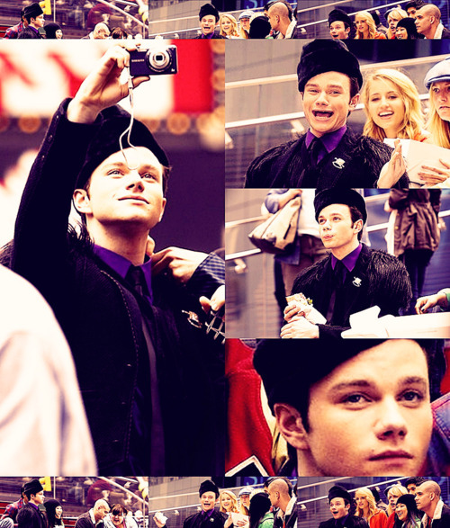adorable, blaine, chris colfer, cute, fashion