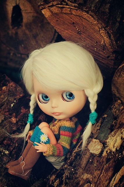 aia, blythe, braids, doll, japanese