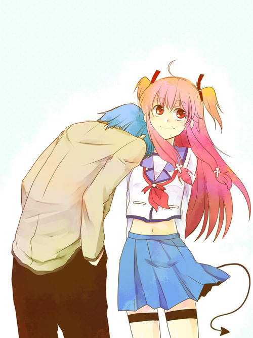 angel beats, cute, cute anime, smile