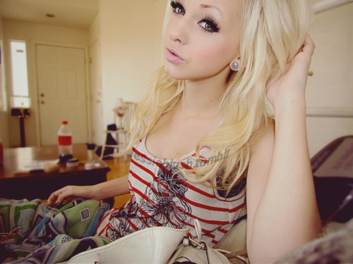 attentionwhore, beautiful, blonde, fashion, girl