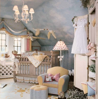baby, baby room, blue, dress, nursery