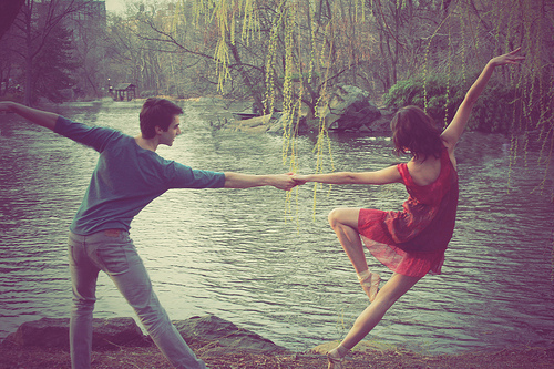 ballet, boy, dance, dress, fashion, girl, graceful, love, pretty, water