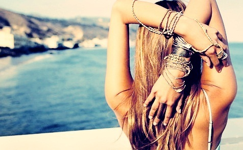 beach, bracelets, fashion, hipster, jewelry