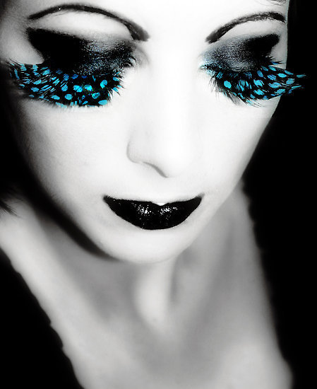 beautiful, beauty, dark, extreme, eyelash, face, fashion, lady, make up, smink, style, vogue