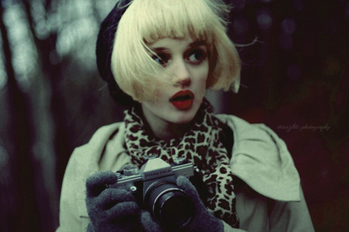 beautiful, blonde, camera, eyes, fashion