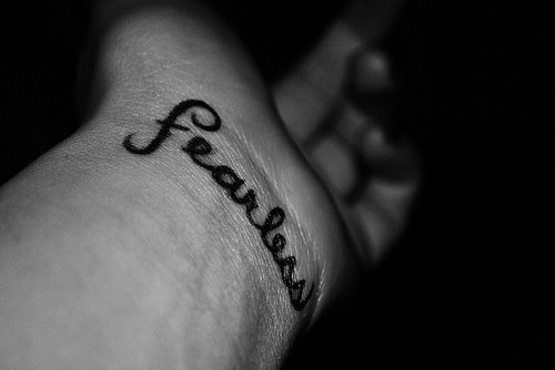 believe, brave, courage, fearless, hope, remember, separate with comma, strength, strong, tattoo, taylor swift, text, words