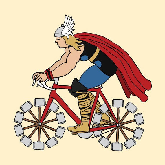 bicycles, bikes, comic books, comics, thor