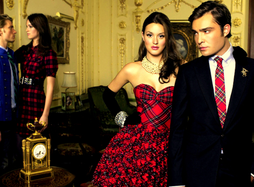 blair, chuck, dress, fashion, gossip girl