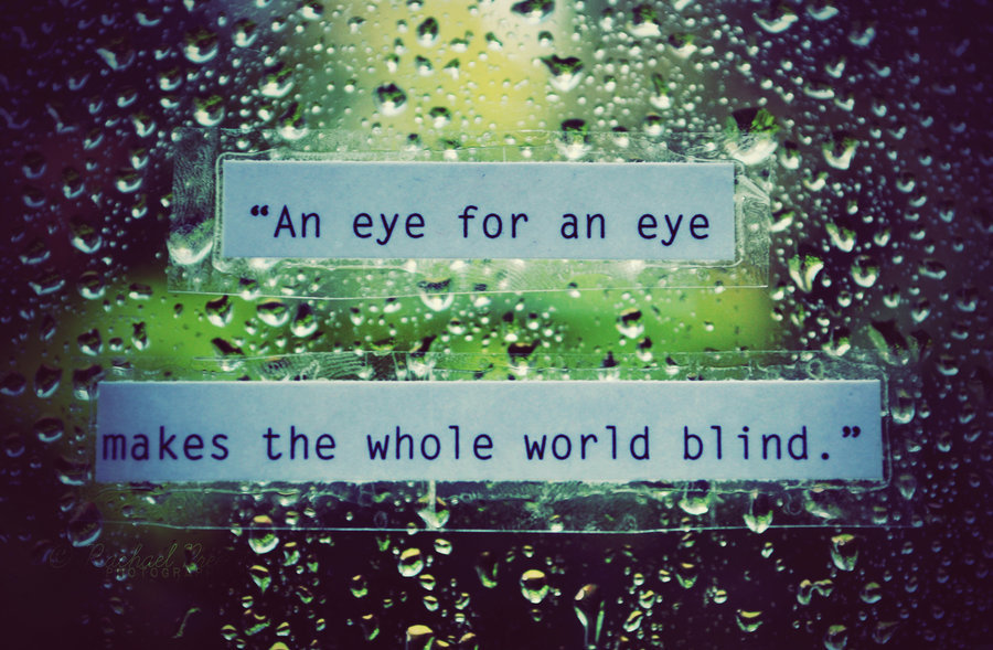blind, eye, eye blind payback, rain, text