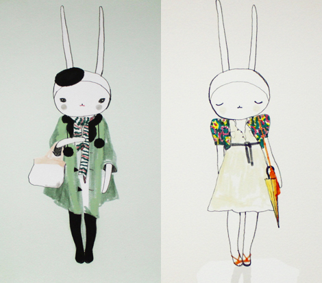 booberrystudio, boolovesberry, cute, eccentric, happy, illustration