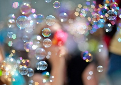 bubbles, color, fantasy, love, separate with comma, sunny