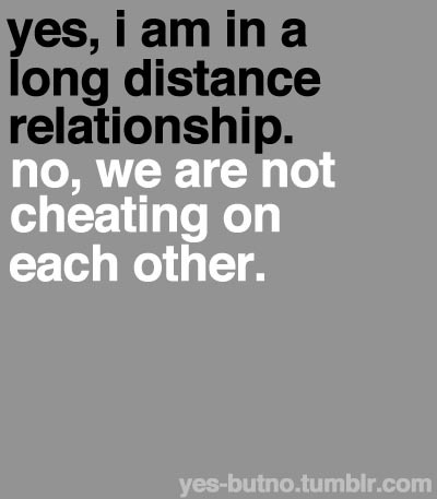 cheating, long distance, relationship, yes, you are not in this alone