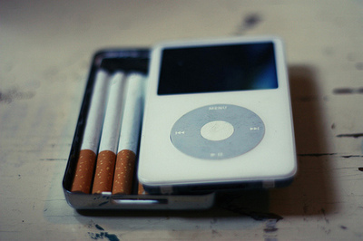 cigarette, cigarette case, cool, cute, ipod