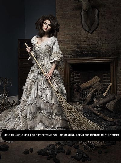 cinderella, dress, fairytale, selena gomez