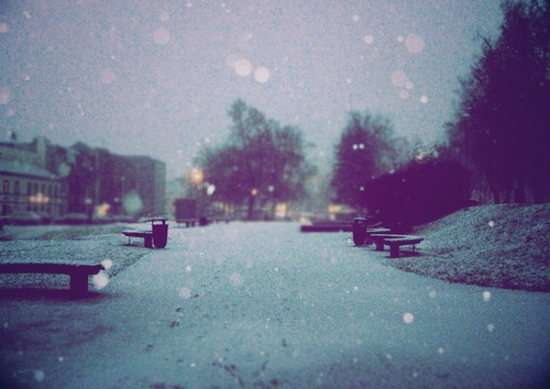 cold, faded, night, pretty, snow
