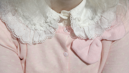 collar, cute, lace, pastel, pink