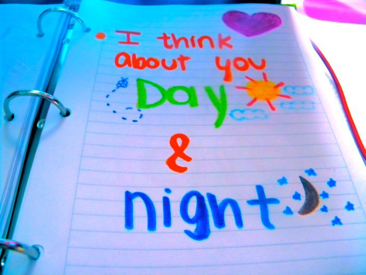 colorful, drawing, notebook, quote, words