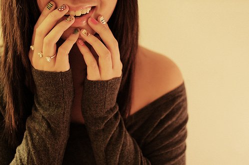 cool, cute, girl, hands, nails