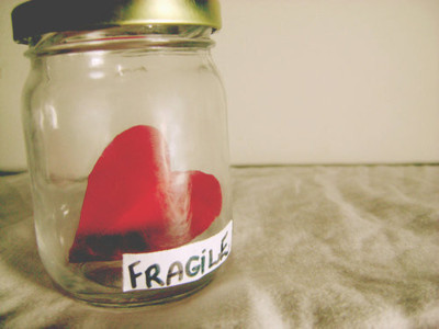 cool, fragile, heart, hearts, jar, jar of hearts, love, sad