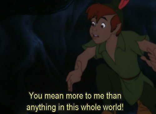 cute, disney, love, movie, peter pan