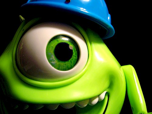 cute, green, monsters inc, verdelimao