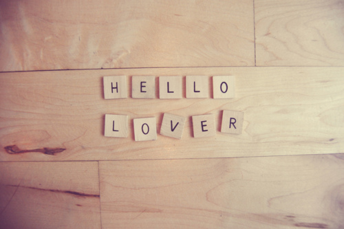 cute, hello, letters, love, pretty, scrabble, sweet, text