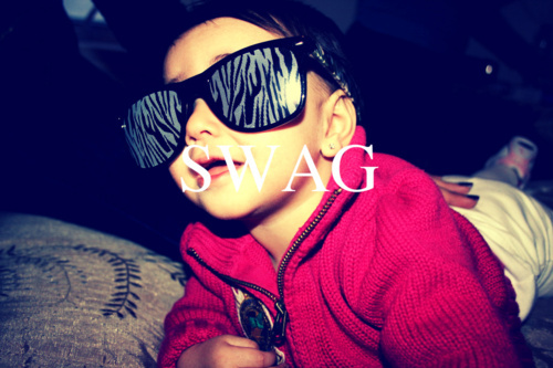 cute swag swag baby image 223935 on Favim