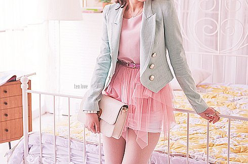 cuute, fashion, girl, pink