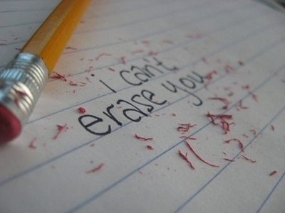 erase, love, pencil, quotes, separate with comma, text
