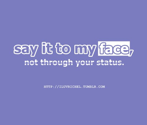 face, facebook, iluvrichel, quotes, sayingimages