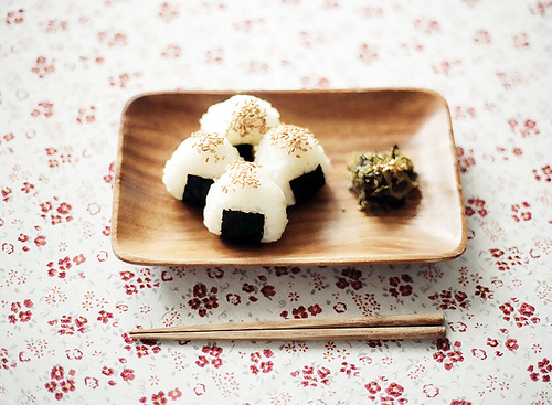food, japan, onigiri