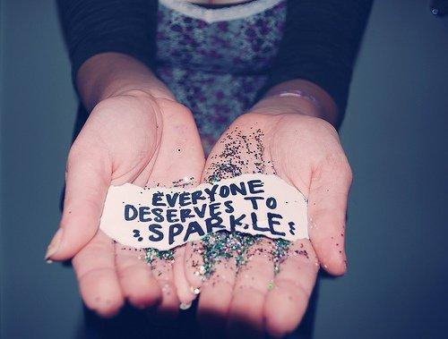 glitter, phrase, quote, saying, sparkle, word