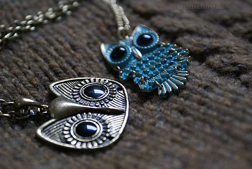 jewelry, owl, owls