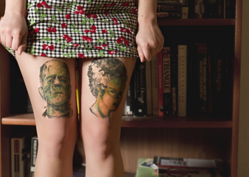 legs, tattoo, tattoos
