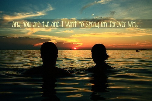 love, quotes, sunset