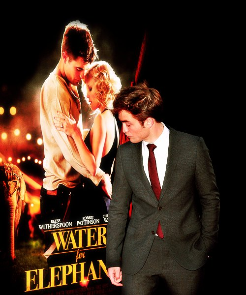 robert pattinson, water for elephants, wfe