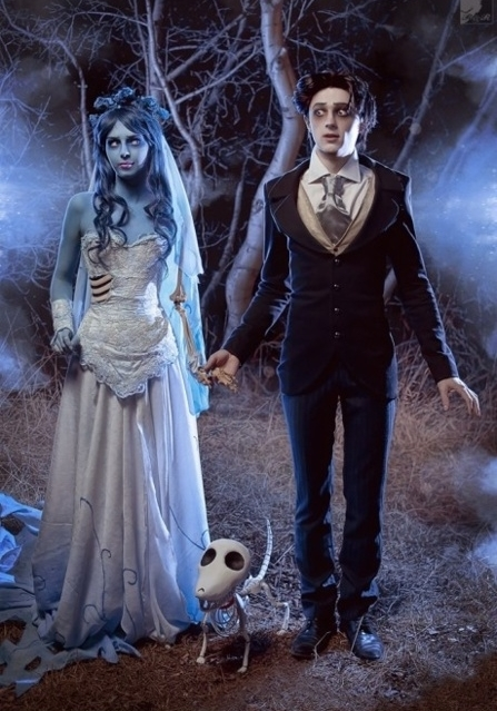 a noiva cadaver, awesome, corpse bride, cosplay, johnny depp