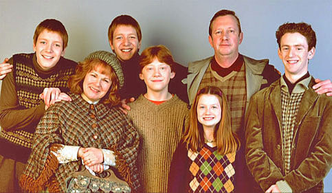 and no bill, family, family portrait, harry potter, no charlie