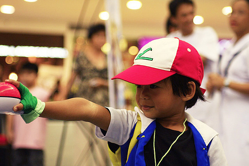 anime, ash, cosplay, cute, kid