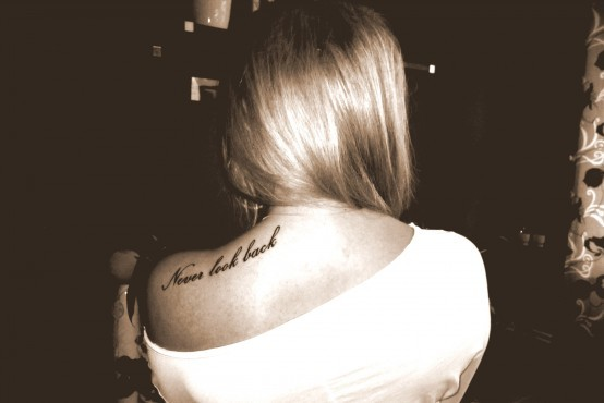 back, back tattoo, pretty, tattoo, typography