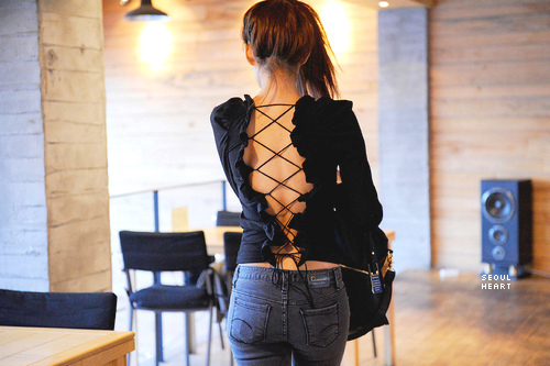 back, brunette, classy, cute, fashion, girl, girly, hair, heart, jeans, love, outfit, photography, pretty, skinny, style, thin, thinspo, top