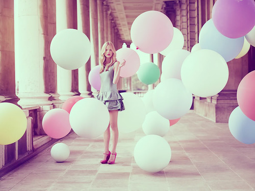 balloons, beautiful, colors, cute, fashion