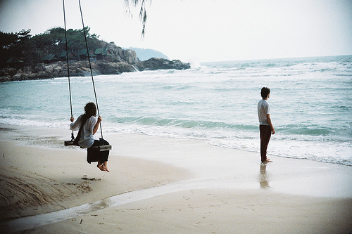 beach, couples, love, ocean, photography