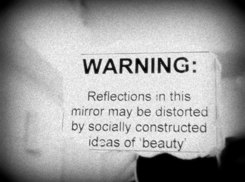 #beautiful, #beauty, #mirror, #photography, #typography, anna, fat, not how it works, thinspo, skinny, nope, anorexia, beauty, feminism, mia, true, mirror, bulimia, joke, warning, feminist, photography