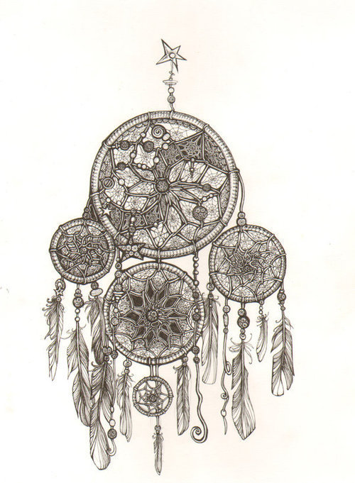 beautiful, draw, dream catcher, dreamcatcher, feathers