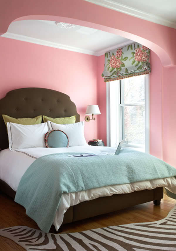 bed, cute, flower, pillow, pink