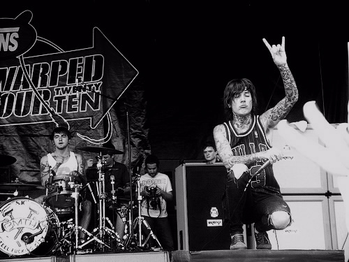 black and white, bmth, boy, boys, bring me the horizon, matt nicholls, oli sykes, oliver sykes, tattoo, tattoos