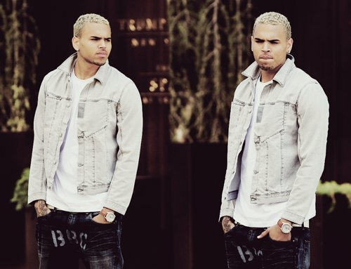blonde, breezy, chris brown, hot